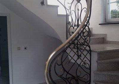 Treppengeländer Bronze Schmiedeisen Kunstschmiede 3